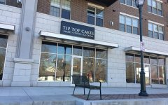 The storefront of Tip Top Cakes on newly renovated 5th St.