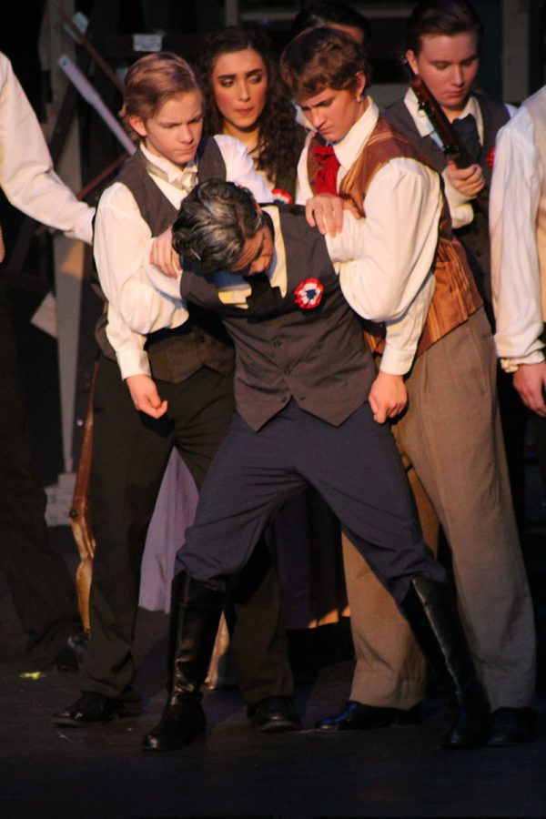 Senior+Robert+Wise+played+the+role+of+Javert+in+the+musical.+