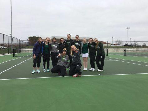 Meet the girls tennis starters