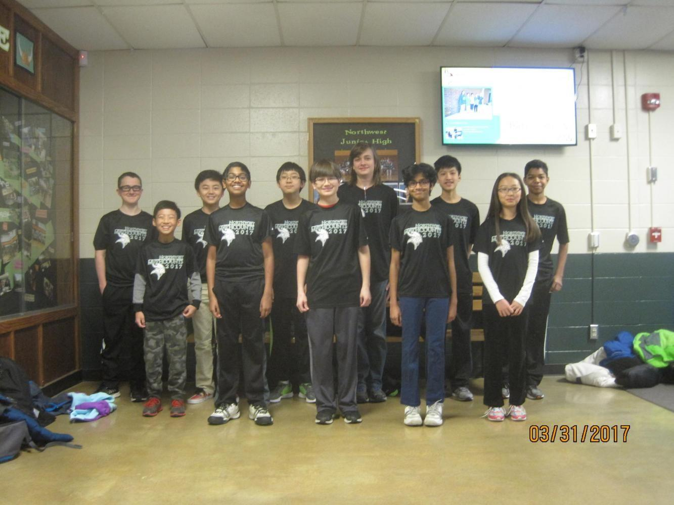 Young minds dominate state math championship