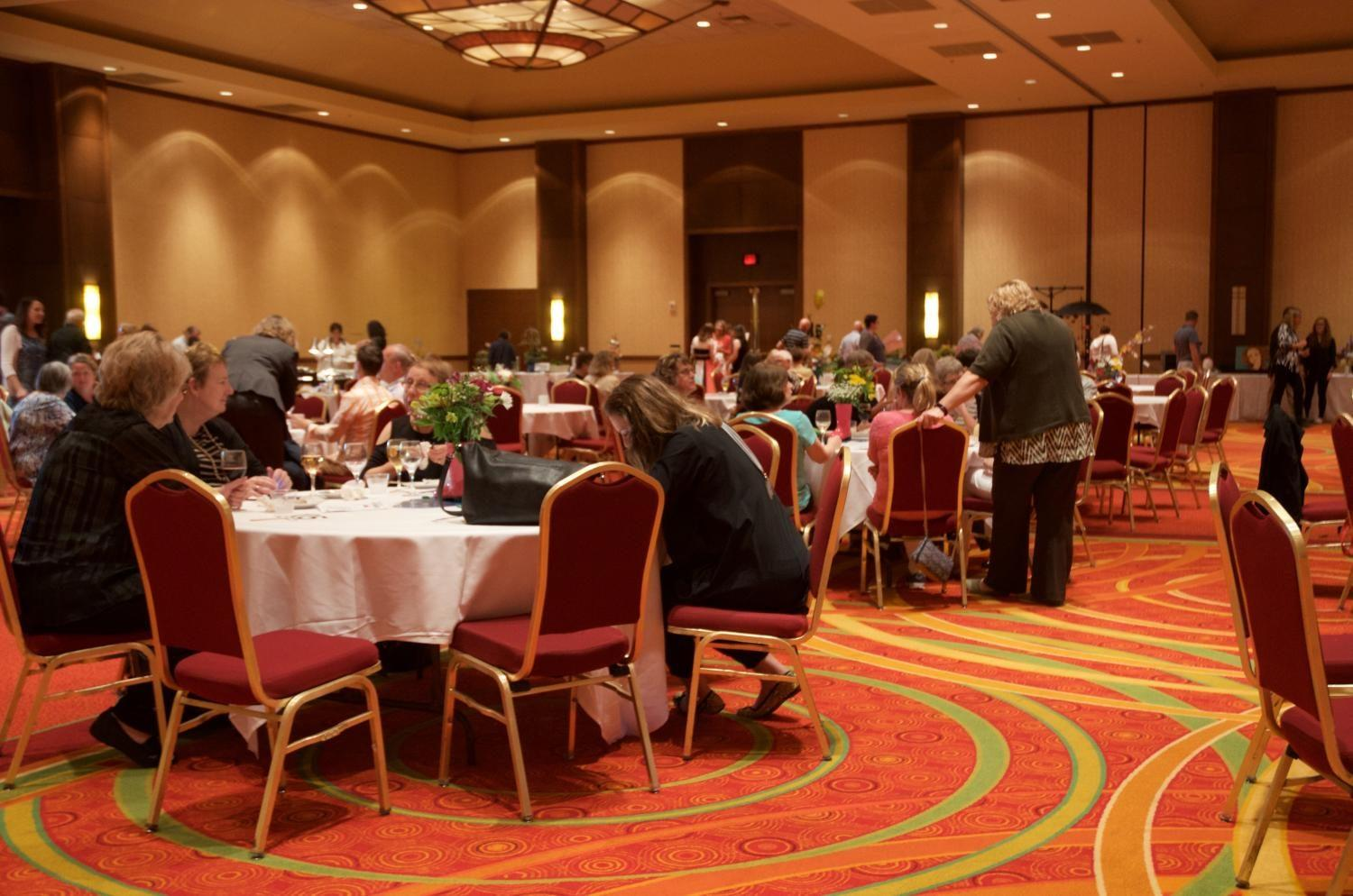 The twelfth annual UAY Festival of Flowers was held at the Coralville Marriott.