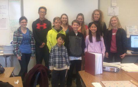 West Side Story staffers help kickstart Van Allen Elementary student-run newspaper