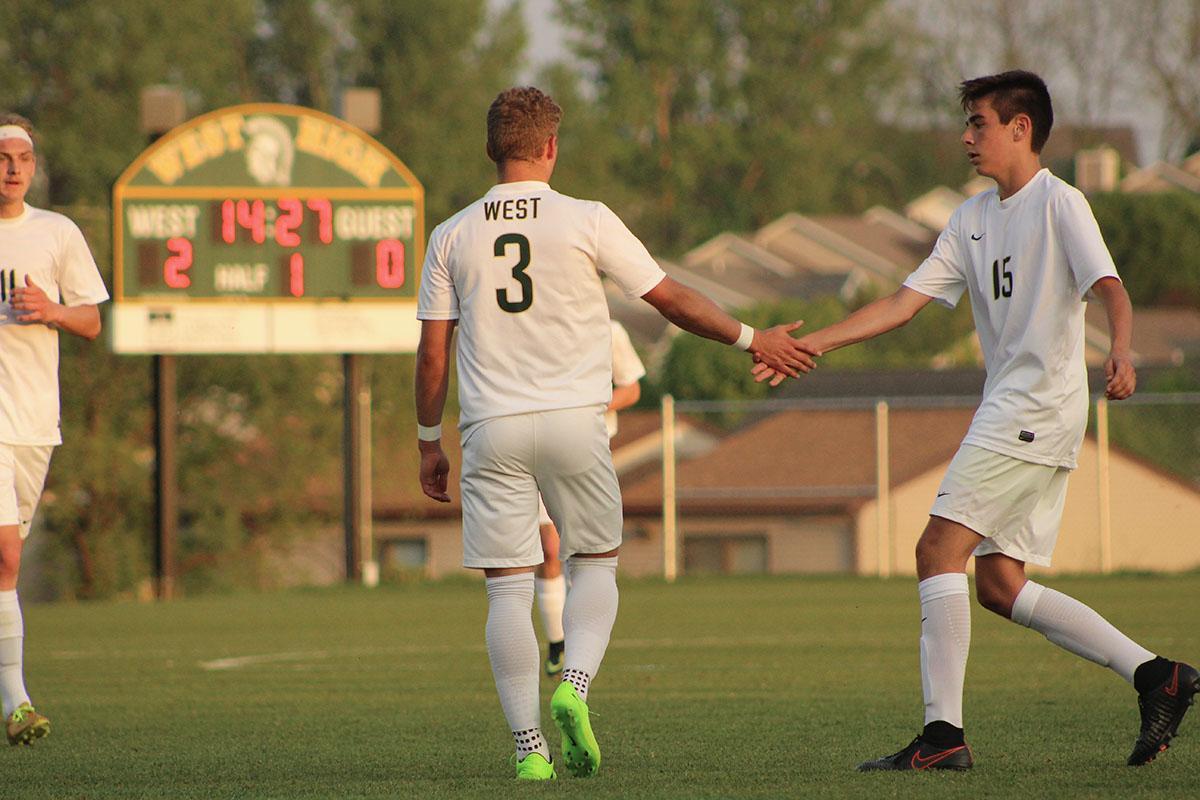 Boys soccer celebrates senior night