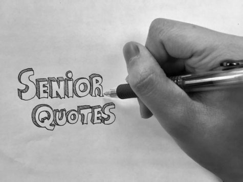 The class of 2017 presents: Senior Quotes