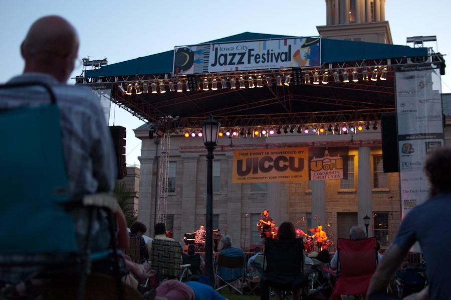 The Donny McCaslin Group plays the last performance of the Iowa City Jazz Festival on July 2 on the Main Stage.