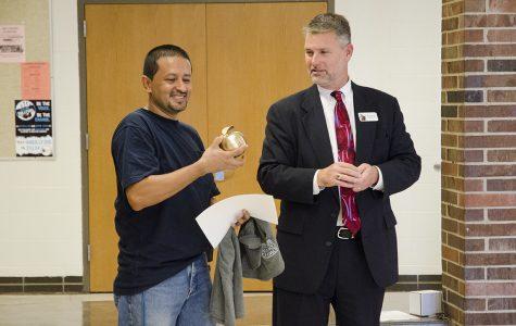 Daniel Carlos receives District Shine Award