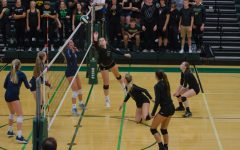 Varsity volleyball falls to Jefferson on senior night