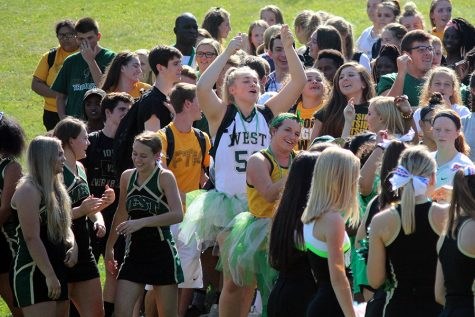 West celebrates 50 years in outdoor spirit assembly