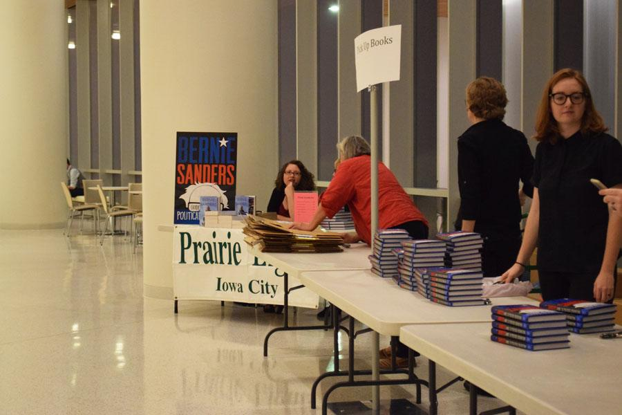 Bernie Sanders book, A Guide to a Political Revolution, galvanized Sanders Iowa City supporters. Prairie Lights, who housed his previous book event at their store, organized Sanders speech at the Hancher Auditorium due to an increased demand.