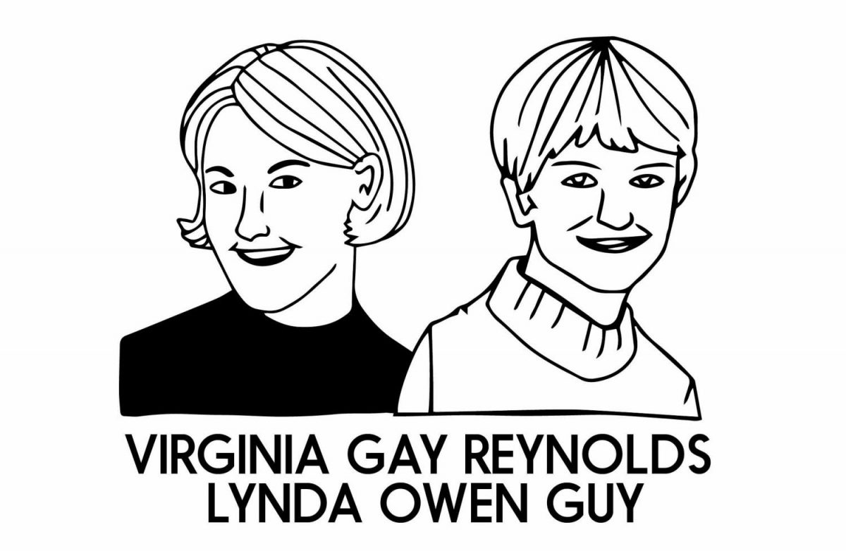 Virginia+Gay+Reynolds+and+Lynda+Owen+Guy