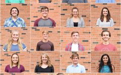 1st row, left to right: Brad DiLeo, Bailey Nock, Damarius Levi, and Connor Greer. 2nd row, left to right: Michael Duffy, Joe Briddle, Brianna Faulkner, and Julia Austin. 3rd row, left to right: Colby Greene, Evan Flitz, Joseph Verry, and Daniel Burgess. 4th row, left to right: Pieper Stence, Heidi Vogts, Brandon Burkhardt, and Khushi Kapoor. 5th row, left to right: Rachel Saunders, RJ Duncan, Ruby Martin, Sasha Tyler, and Annie Chen. Not pictured: Traevis Buchanan, Nathan Dill, and Maliyah Halverson.