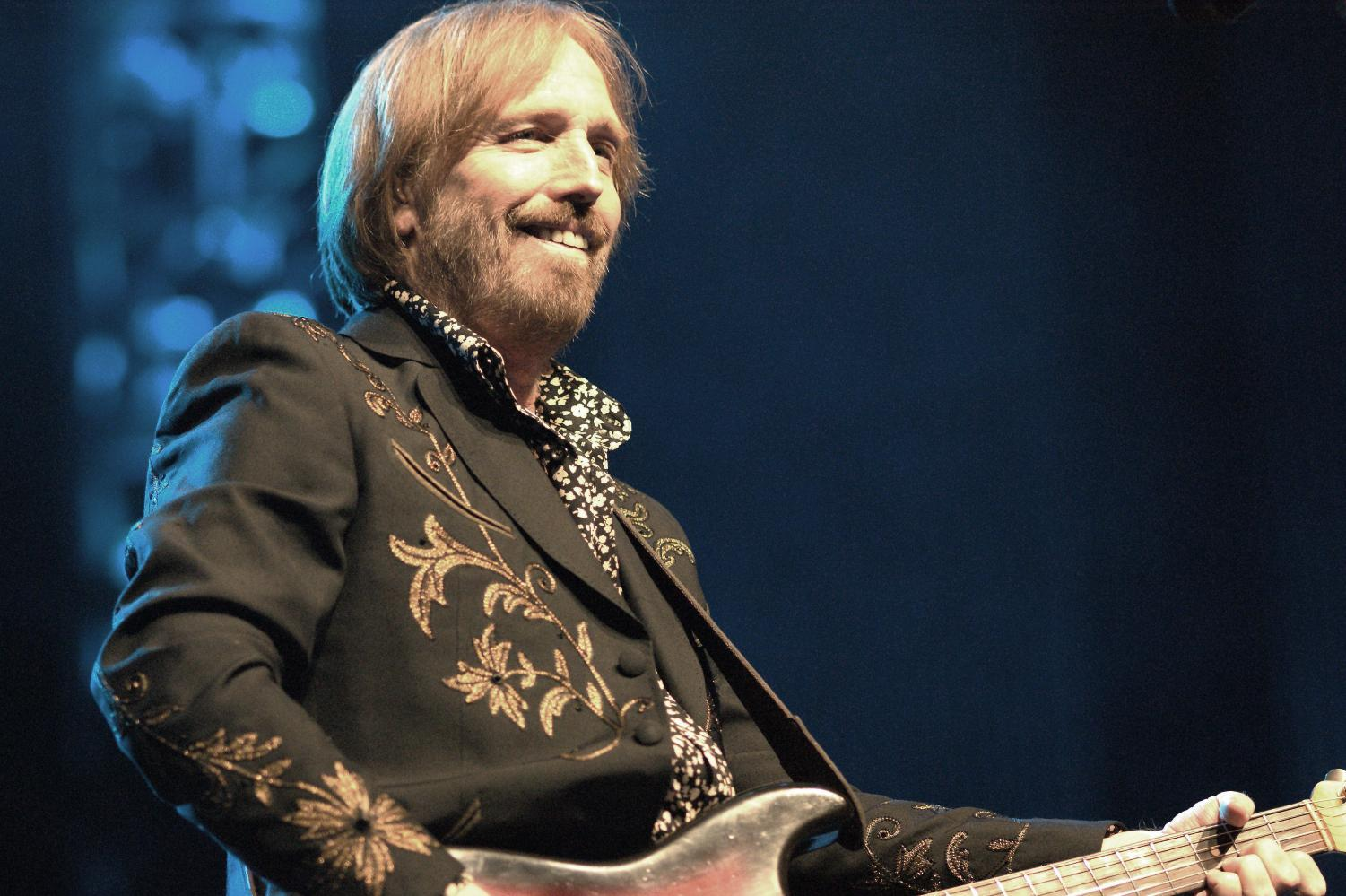 Tom Petty in concert, photo by musicisentropy, Flickr.com
