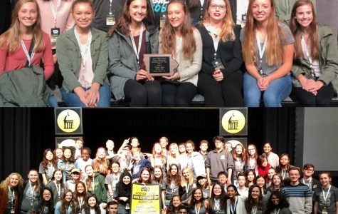 IHSPA recognizes Trojan Epic as Yearbook of the Year and WSS staff as 1 of 5 News Teams of the Year