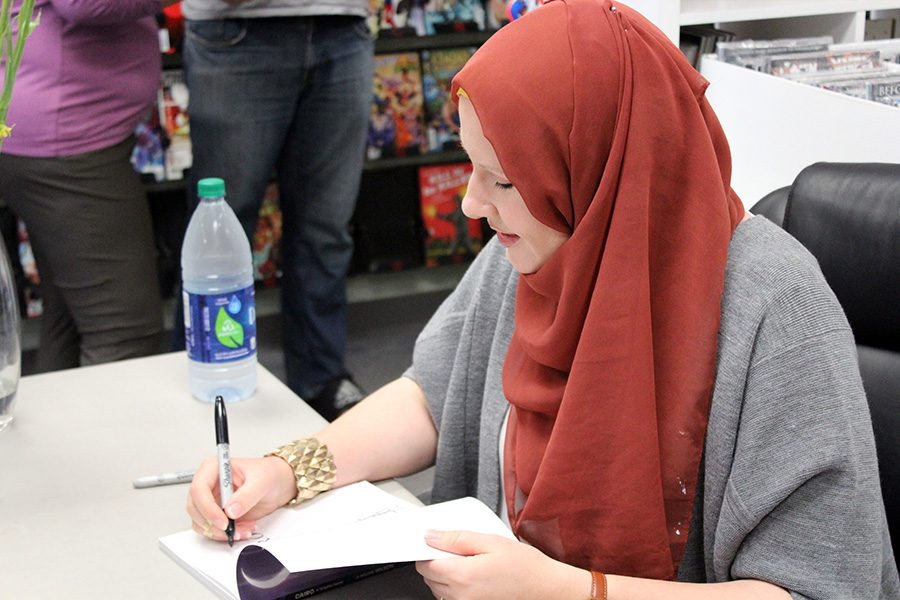 G. Willow Wilson kicks off her time in Iowa City by doing a book signing at Daydream Comics.