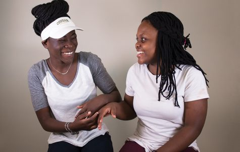 Lifelong friends Merci Sikitu and Linda Adela  have overcome immense challenges from across the world ever since they were infants.