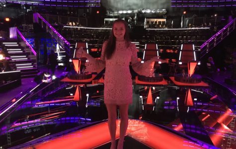"WSS reporter moves to blind audition round of ""The Voice"""