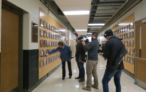 'The Miracle Season' crew stops at West High