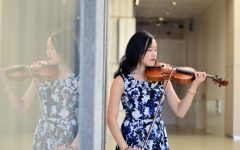 My mom got me started in music, and without piano, I never would have gotten so serious about it, four year All-State violinist Annie Chen said.