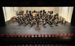 Winter band concert welcomes holiday season