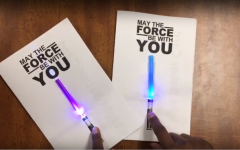 Library celebrates release of 'The Last Jedi' with STEM project