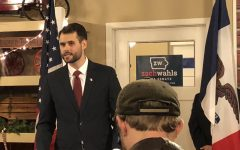 Zach Wahls kicks off senate campaign to packed house
