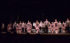 The varsity show choir, Good Time Company, performed a series of songs at Hancher on Dec. 9.