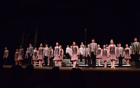 West High show choirs perform at Winter Swing Show at Hancher