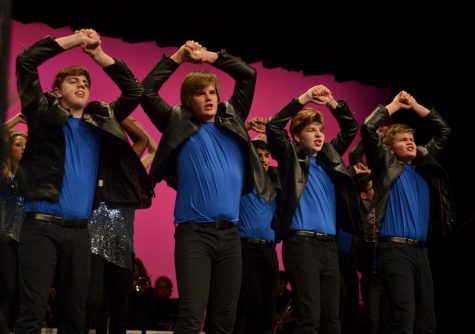 """Show choirs perform at """"Dollars for Scholars"""""""