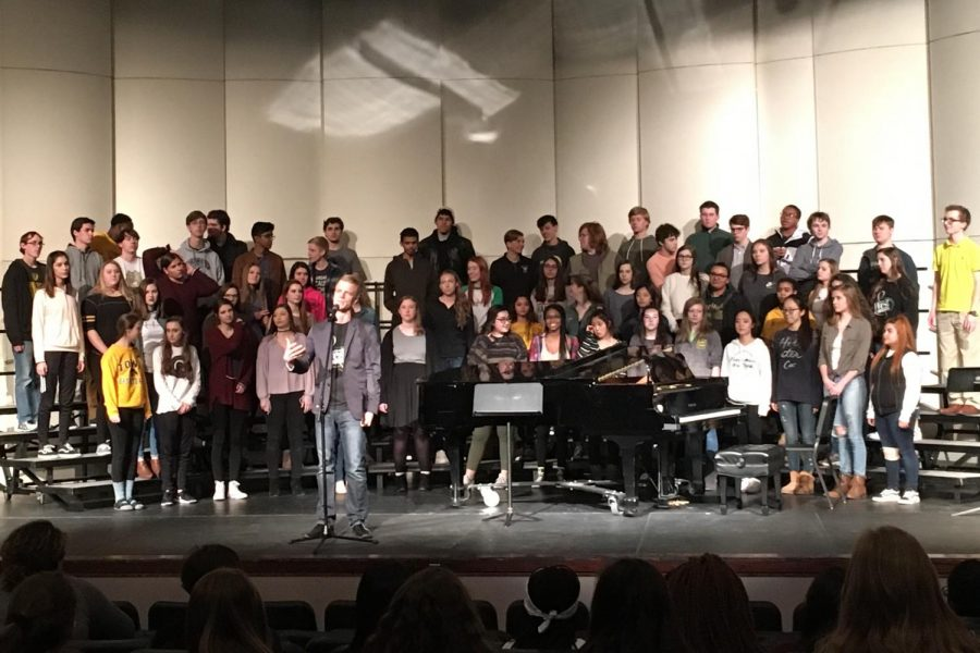 The+choir+group+performs+on+the+planned+MLK+day+on+Jan.+12%2C+2018.