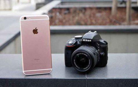 iPhone X vs Nikon D3300
