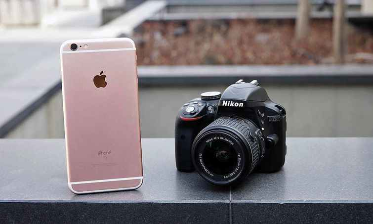 iPhone+X+vs+Nikon+D3300