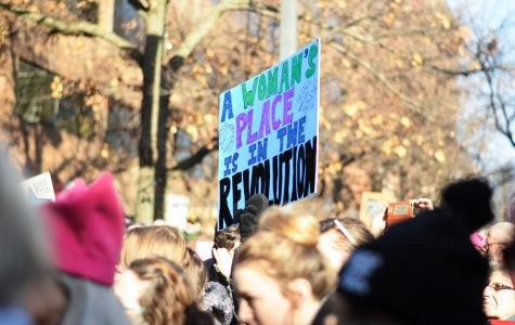 Charged Women's March rallies in downtown Iowa City