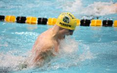 Boys swim team hosts state meet