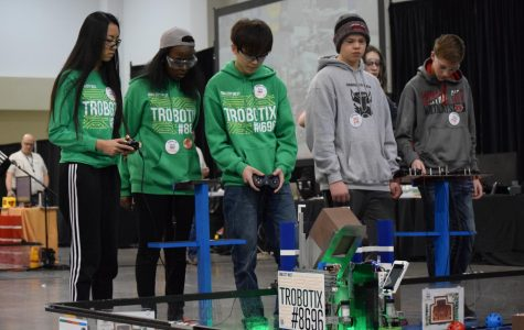 FTC Robotics participate in State Competition