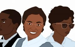 Three important faces of black history.