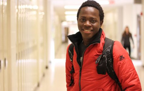 Mukeh Lamin '19 poses for a headshot on Jan. 24.