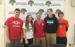 Student-athletes honored at winter signing