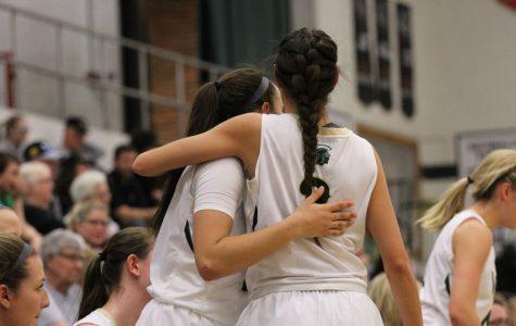 Girls basketball celebrates senior night with victory