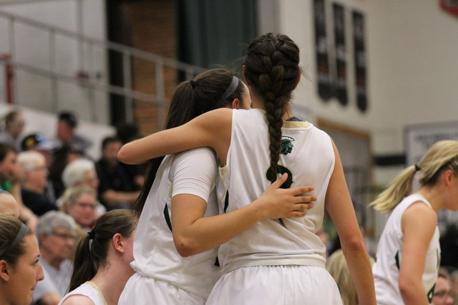 Girls basketball celebrates senior night with victory