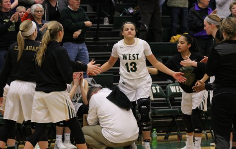 Girls basketball plays first regional game