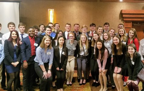 Business Professionals of America compete at the State Leadership Conference