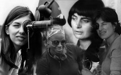 A collage of some of the female directors FilmScene will featuring the work of in March. Photo courtesy of FilmScene.