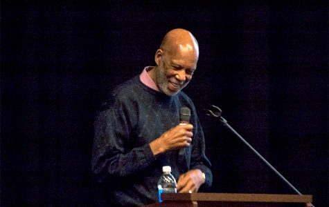 Civil rights activist visits West High