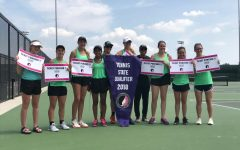 West High girls tennis advances to the final four at state