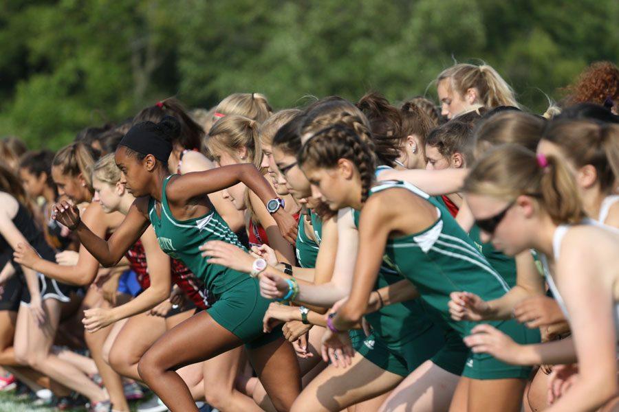 Girls cross country hosts first meet of the season
