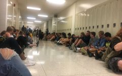 Tornado Warning sends students to the hallway and gym