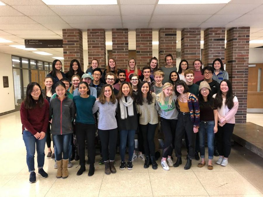 The 2017-2018 West Side Story newspaper staff received the prestigious Pacemaker award.