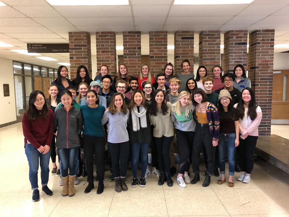The 2017-2018 West Side Story newspaper staff is a Pacemaker finalist. The last time the newspaper was a finalist was 2012.