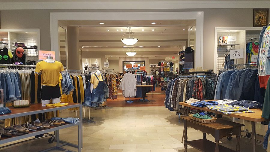 A look into Ragstock at the Coral Ridge Mall.