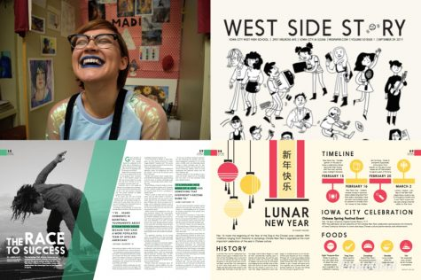 National Scholastic Press Association recognizes WSS in national Portfolio, Story and Illustration of the Year contests